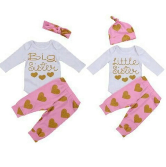 Matching Sets Big Sister Little Sister Outfits Poshmark